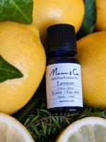 【レモン精油】Marvo & Co ACO認定オーガニックエッセンシャルオイル/レモン10mL