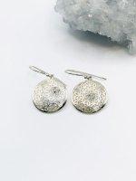【ARDANI energy jewelry】FLOWER OF LIFEフラワーオブライフシルバーピアス