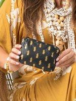 防水トラベルバッグAloha Collection/Pineapple Royale/ポーチミニ/ゴールドブラック