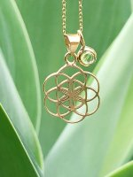 【ARDANI energy jewelry】Seed of Lifeシードオブライフ 18金ペンダントトップ