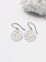 【ARDANI energy jewelry】SEED OF LIFEシードオブライフシルバーイヤリング