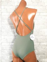 <img class='new_mark_img1' src='https://img.shop-pro.jp/img/new/icons24.gif' style='border:none;display:inline;margin:0px;padding:0px;width:auto;' />【2021Lauras Swimwear】Sally Onepiece/アーミー/S~L