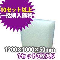 トラック用発泡ボード(1200×1000×50 mm) 【10セット一括購入】