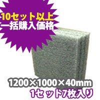 トラック用発泡ボード(グレー) 1200×1000×40 【10セット一括購入】