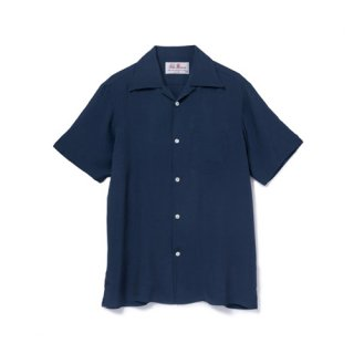 Aloha Blossom<br>【アロハブロッサム】<br>FOUNDATION<br>SHIRTS S/S NVY<br>