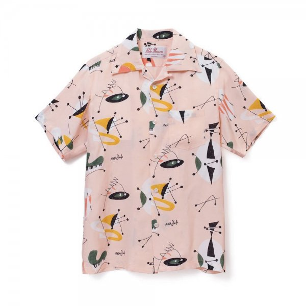 <br>Aloha Blossom<br>【アロハブロッサム】<br>ATOMIC<br>S/S SHIRT PNK<br>