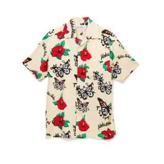 <br>Aloha Blossom【アロハブロッサム】<br>TEHU TEHU<br>SHIRTS S/S BEG<br>sold!!!