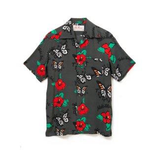 <br>Aloha Blossom【アロハブロッサム】<br>TEHU TEHU<br>SHIRTS S/S CHA<br>sold!!!