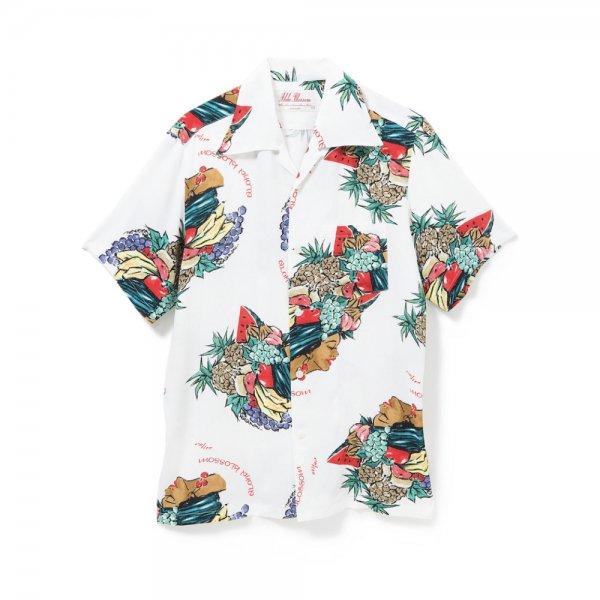 <br>Aloha Blossom【アロハブロッサム】<br>HARVEST SHIRTS<br>WHT<br>sold!!!