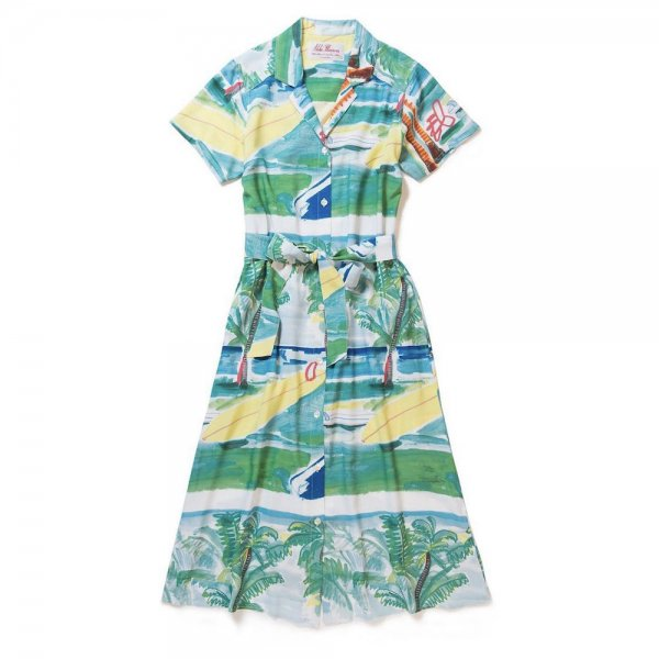 <br>Aloha Blossom<br>【アロハブロッサム】<br>SUMMER TIME<br>ONEPIECE GREEN<br>