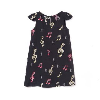 <br>Aloha Blossom<br>【アロハブロッサム】<br>SOUNDS GOOD<br>KIDS ONE PIECES BLK<br>