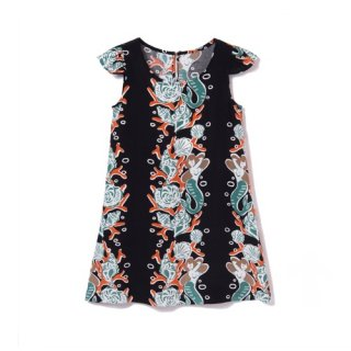 <br>Aloha Blossom<br>【アロハブロッサム】<br>MERMAID<br>KIDS ONE PIECES  BLK<br>