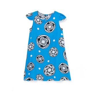 <br>Aloha Blossom【アロハブロッサム】<br>TYPHOON<br>KIDS ONE PIECES BLUE<br>sold!!!