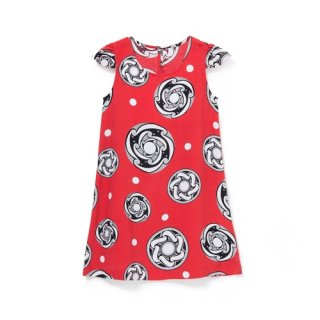 <br>Aloha Blossom【アロハブロッサム】<br>TYPHOON<br>KIDS ONE PIECES RED<br>sold!!!