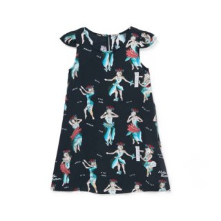 <br>Aloha Blossom<br>【アロハブロッサム】<br>HULA GIRL<br>KIDS ONE PIECES BLAK<br>