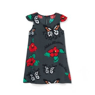 <br>Aloha Blossom【アロハブロッサム】<br>TEHUTEHU<br>KIDS ONE PIECES CHARRCOAL<br>sold!!!