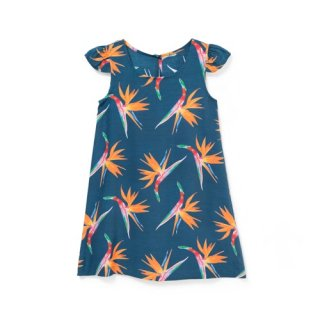 "<br>Aloha Blossom<br>【アロハブロッサム】<br>""BIRDS OF PARADICE""<br>KIDS<br >ONE PIECES NAVY<br>"
