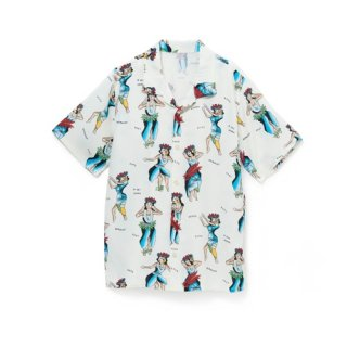 "<br>Aloha Blossom<br>【アロハブロッサム】<br>""HULA GIRL""<br>KIDS<br >SHIRTS NATURAL<br>"