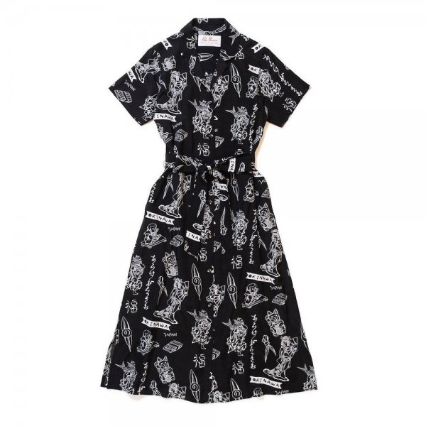 <br>Aloha Blossom<br>【アロハブロッサム】<br>LUCKY<br>LONGONEPIECE<br>BLK