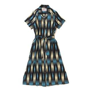 <br>Aloha Blossom【アロハブロッサム】<br>MINSA-ARGYLE<br>DRESS Blue<br>sold!!!