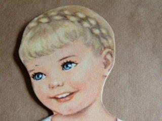 紙の着替え人形〈イングリッド〉