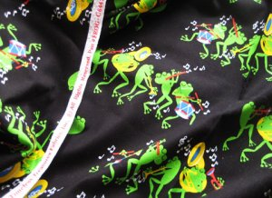 Frog Cotton Fabric