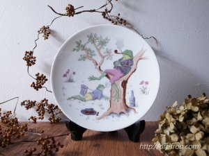 <img class='new_mark_img1' src='//img.shop-pro.jp/img/new/icons13.gif' style='border:none;display:inline;margin:0px;padding:0px;width:auto;' />Antique Frog Plate by Pirkenhammer