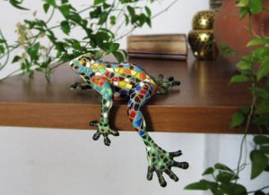 Mosaic Frog from Paris