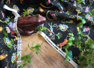 Frog & Fairy Dance Fabric