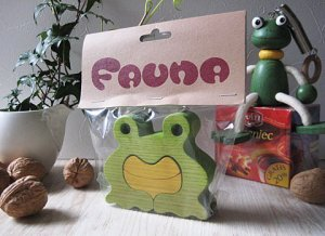 Frog Wood Puzzle from Hungary
