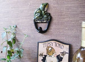 Cast Iron Frog Coat Hook