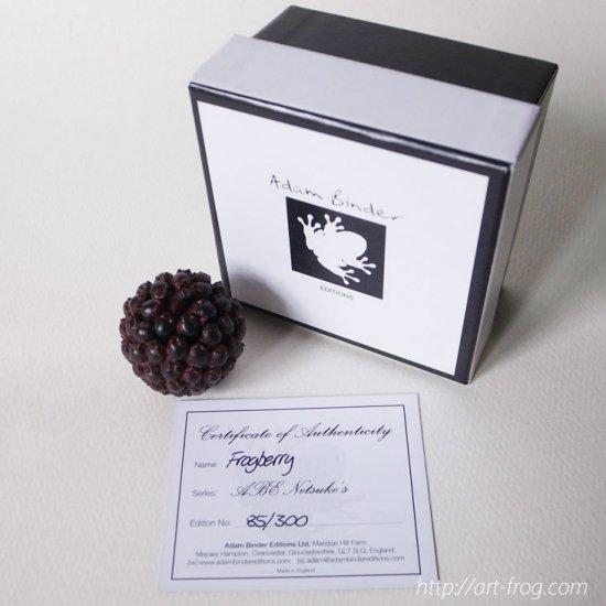 "Adam Binder Editions Netsuke's Series ""Frogberry"" 85/300"