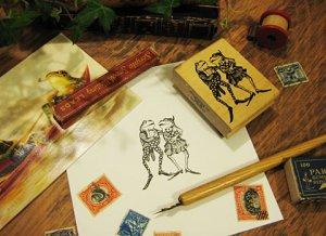Vinrtage Rubber Stamp