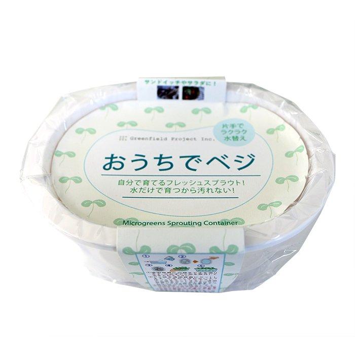 【1000円ポッキリ】 ブロッコリースプラウト栽培 お得セット