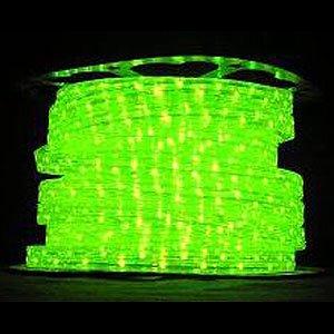 防虫用LEDロープライト[黄緑](防滴)30mロール