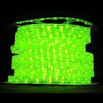 防虫用LEDロープライト[黄緑](防滴)30mロール■直送■