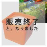 【販売終了】アクアプランターキューブフロート(オレンジ