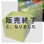 【販売終了】アクアプランターキューブフロート(グリーン)
