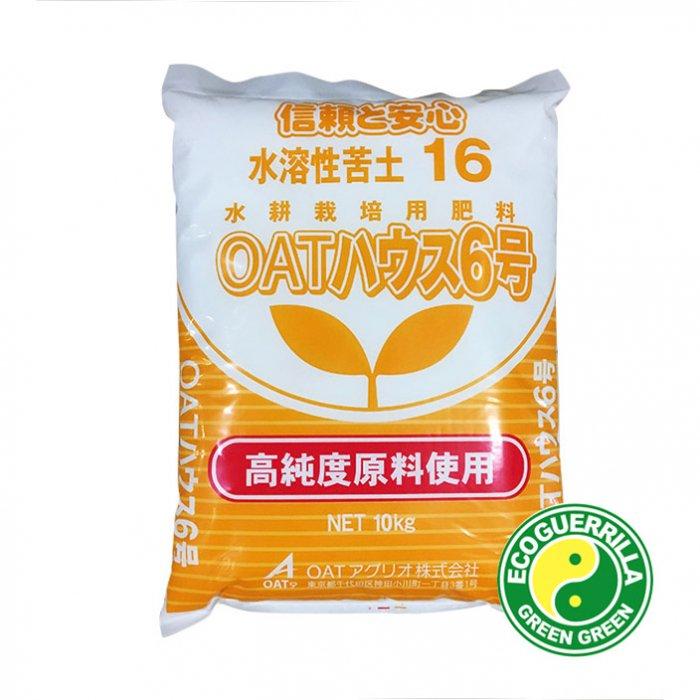 水耕栽培用肥料・OATハウス6号10kg 大塚ハウス OATアグリオ