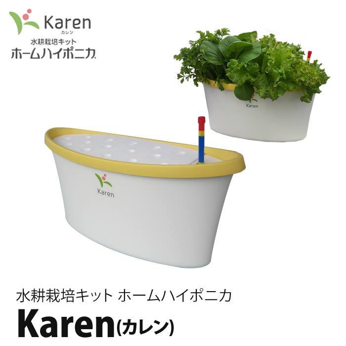 水耕栽培キット・ホームハイポニカKaren(カレン)イエロー