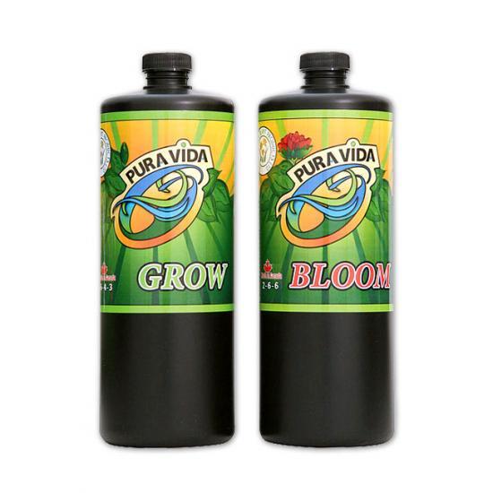 有機肥料プラビダ(グロー・ブルーム)1Lセット