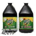 有機肥料プラビダ(グロー・ブルーム)4Lセット