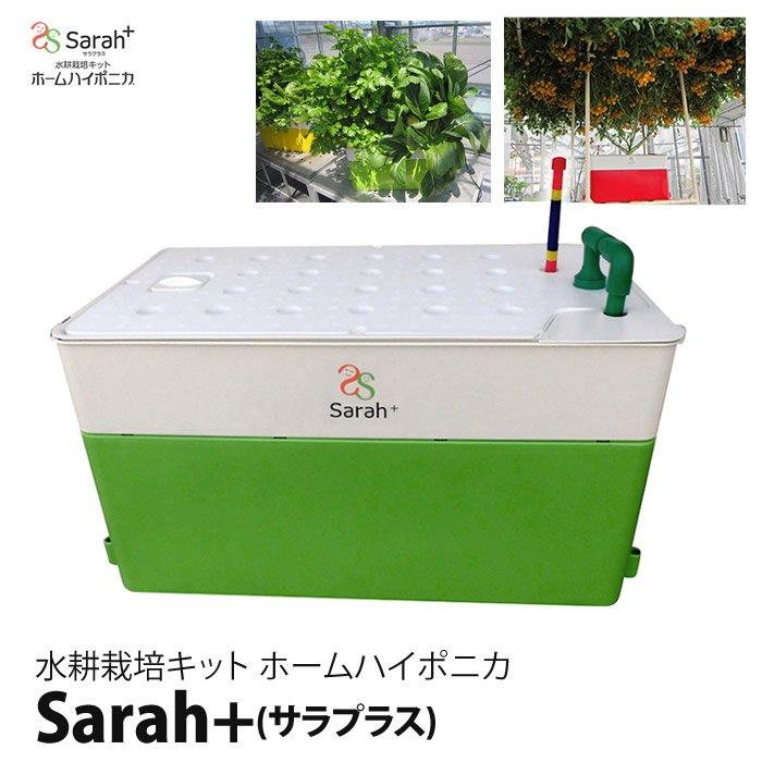 水耕栽培キット・ホームハイポニカSarah+(サラプラス)グリーン(緑)