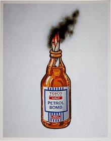 Banksy<BR>Tesco Petrol Bomb