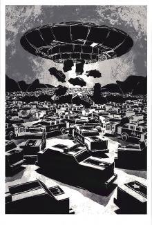 M-CITY<BR>UFO