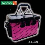 <バッカン> ロデオクラフト RCカーボンタックルバッグ ピンク/ブラックロゴ【EHP-40RC】