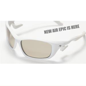 <偏光サングラス> ZPI 【限定】AIR EPIC オールホワイトフレーム