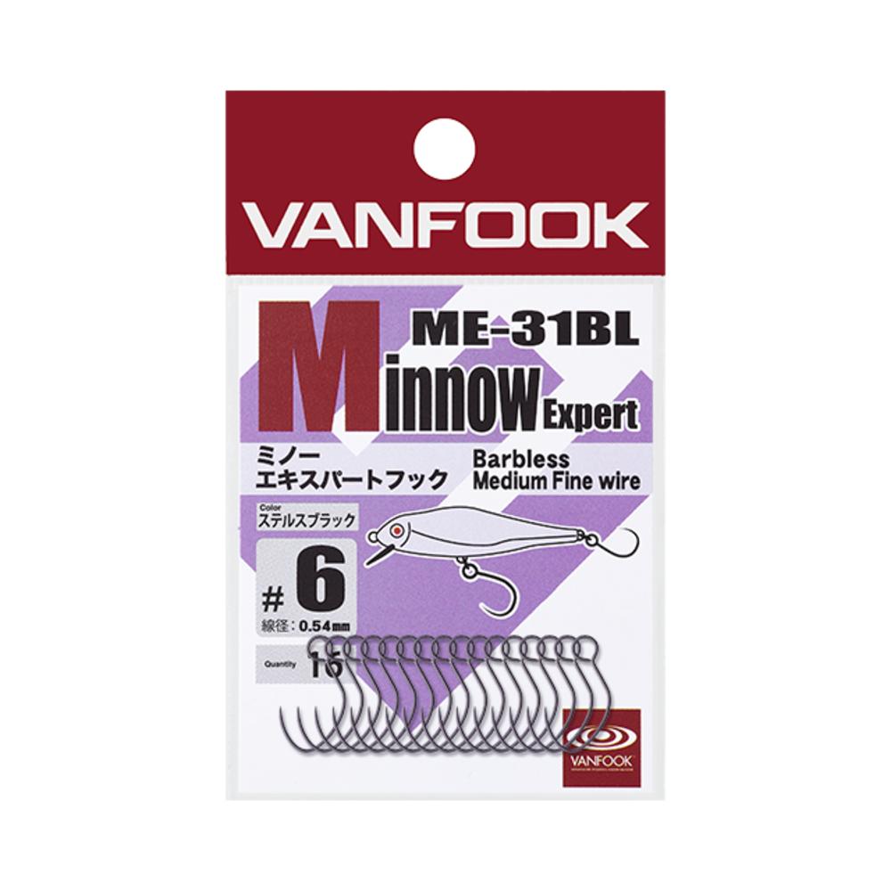 ヴァンフック ME-31BL ミノーエキスパートフック(ミディアムワイヤー) 16イリ