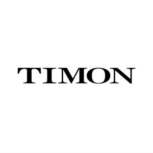 ティモン カッティングステッカー M ブラック