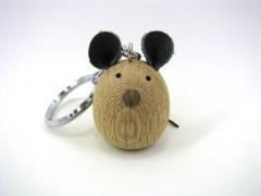 【受注制作】田舎のヒーローキーホルダー ネズミ